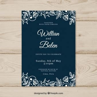 Wedding Invitation Vectors Photos and PSD files Free