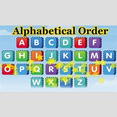 Put The Alphabet In Alphabetical Order, Alphabet Songs, 3d Animation Learning Abc Youtube
