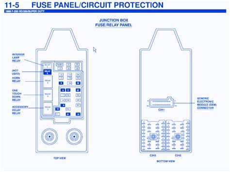 Ford Lariat Diesel Junction Fuse Box Block