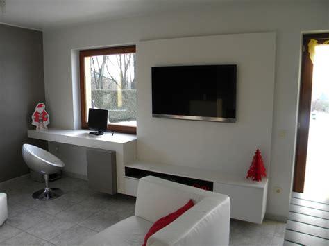 bureau de salon design aménagement intérieur meuble bureau et de passage entre