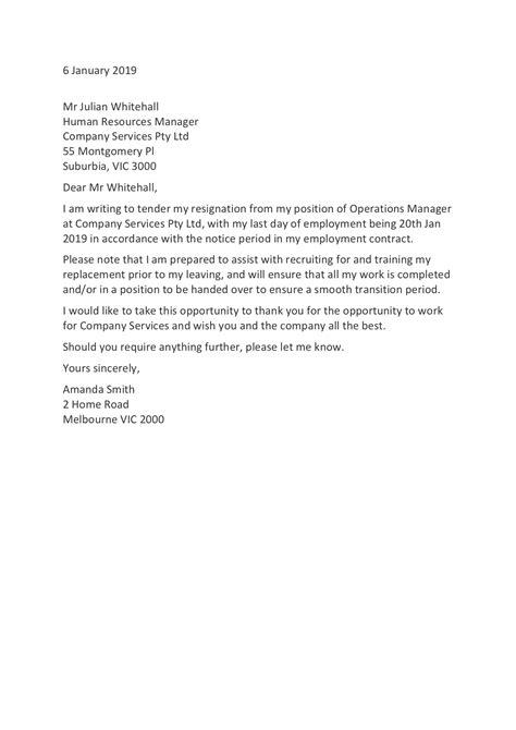 resignation letter templates   resign