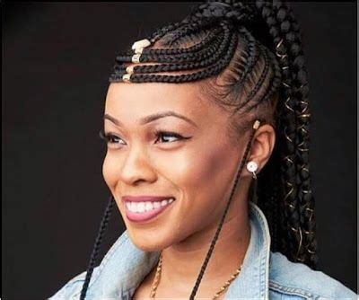 The ultimate simple style is long straight hair. Straight up braids hairstyles 2019, Box braids | Fulani Braids Hairstyles | Black hair, Bob cut ...
