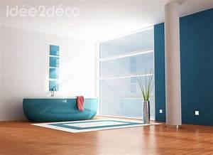 Accessoire Salle De Bain Design : accessoires salle de bain bleu canard ~ Teatrodelosmanantiales.com Idées de Décoration