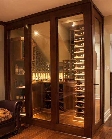 wine cellar racks toronto small space wine cellars by papro consulting