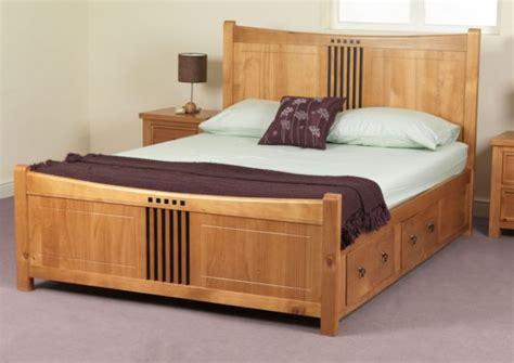 Furniture. Modern Black King Size Platform Bed Frame With