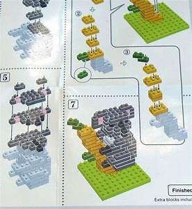 Nanoblock Instructions Excerpt