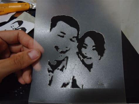 Cetakan Salju Frozen Stencil dsc03538 pakeotac