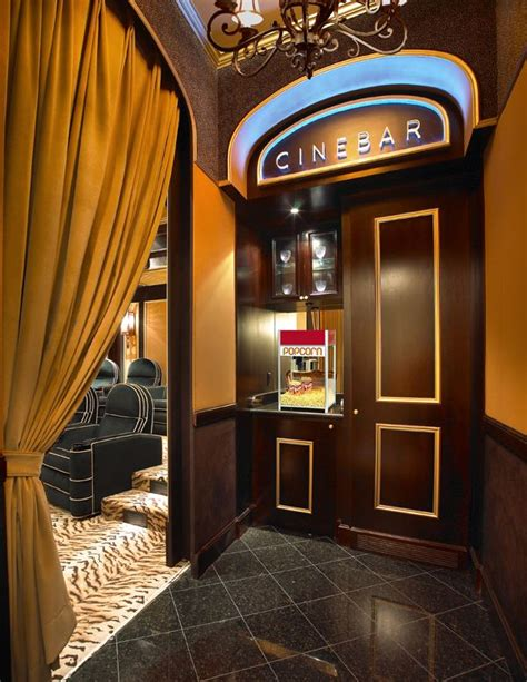 The Entrance Of A Cinema Hotel Or Theatre by Home Theater Ideas Cinema Design Concept Interior