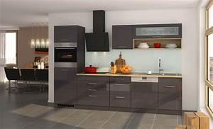 Küche Günstig Mit E Geräten : k chenzeile m nchen vario 2 k che mit e ger ten breite 300 cm hochglanz grau graphit ~ Bigdaddyawards.com Haus und Dekorationen