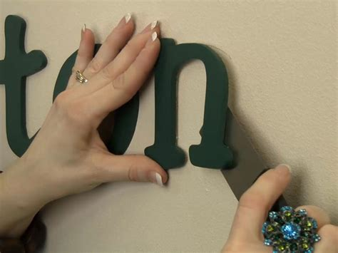 how to hang wooden letters how to hang wood letters with spray adhesive craftcuts