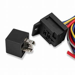 Msd 89617 Electric Fan Harness And Relay Kit  Manual  30a
