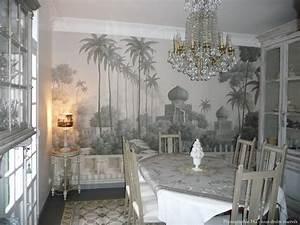 Papier Peint Ananbo : tapisserie panoramique riverside2 cocotte gris bleu dans la collection so color 3 ~ Melissatoandfro.com Idées de Décoration