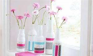Vasen Dekorieren Tipps : washi tape vasen dekorieren ~ Eleganceandgraceweddings.com Haus und Dekorationen