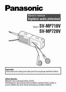 Panasonic Sv Mp710vega D Snap Mp3 Player   Walkman Download