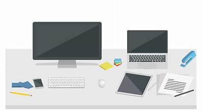 Desk Grovemade Shelf System Office Organization Desktop