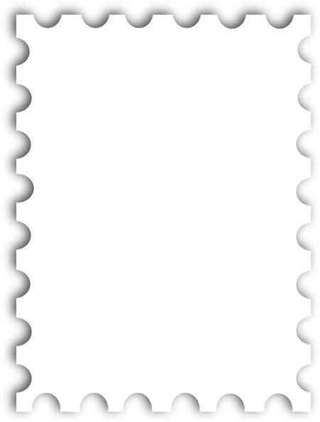 blank postage stamp template kb clip art  clkercom