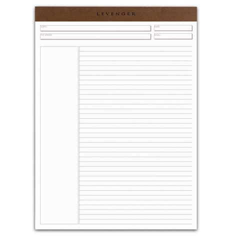purchase template freeleaf white annotation ruled pads letter paper
