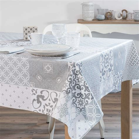 Nappe Table Basse Grise