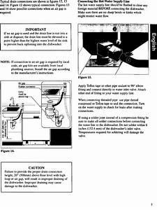 Bosch Dishwasher Manual L0020025