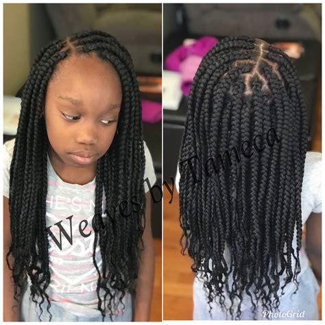 kids box braids weaves by tameca 773 501 2309 in 2019
