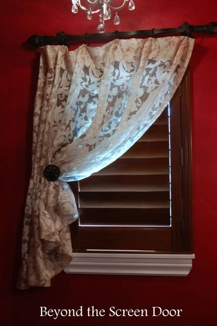 gallery cafe curtains sill length panels