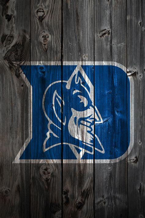 Duke Basketball Logo Wallpaper Duke Blue Devils Wood Iphone 4 Background Duke Blue Devils Flickr