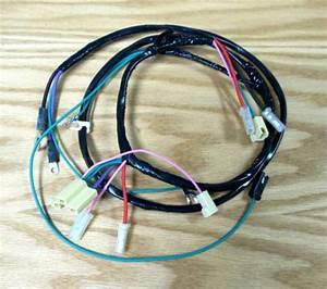 1957 Chevy Truck Starter Wire Harness 6 Cyl With Manual