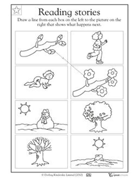 cause and effect worksheets for kindergarten cause