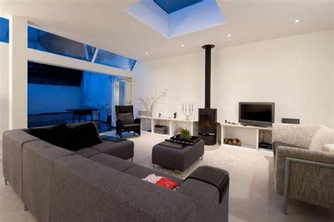 meuble canapé deco salon avec canape gris valdiz