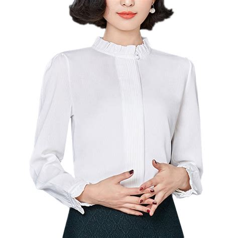 white blouse sleeve 1900s edwardian style blouses tops sweaters
