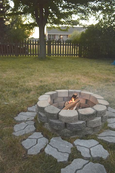 diy pit for the backyard our house now a home