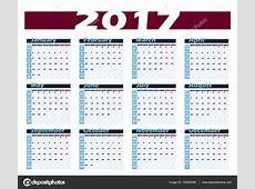 Calendario Semanas 2017 Related Keywords Calendario