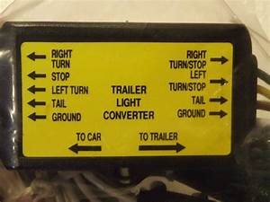 5 Pole To 4 Pole Trailer Converter Wire Connecter Kit    Harness You Can Do It