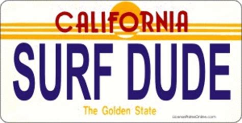 california license plate designs design it yourself california state look alike bicycle