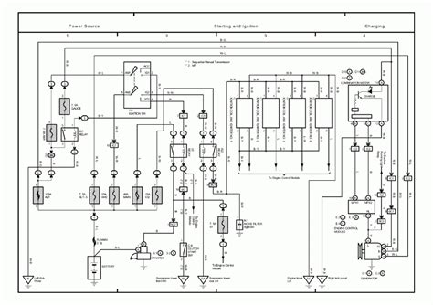 1994 toyota corolla wiring diagram wiring diagram and