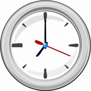 Wand Uhr ClipArt cliparts, kostenlose clipart