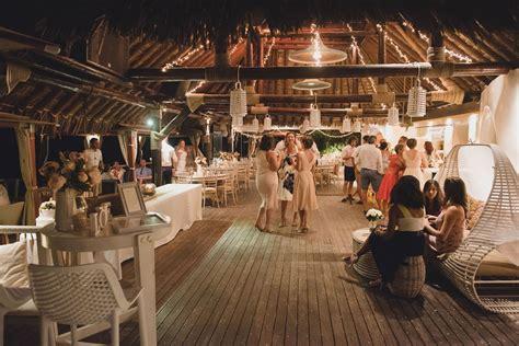 theros beach bar wedding venue santorini wedding venues