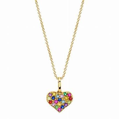 Jewelry Brands Popular Oro Colgante Blanco Diamante