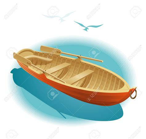 Dinghy Boat Clipart by Row Boat Clipart Dinghy Pencil And In Color Row Boat