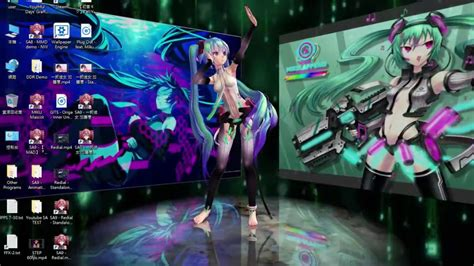 Wallpaper Engine Anime Wallpapers - wallpaper engine no this is miku engine o system