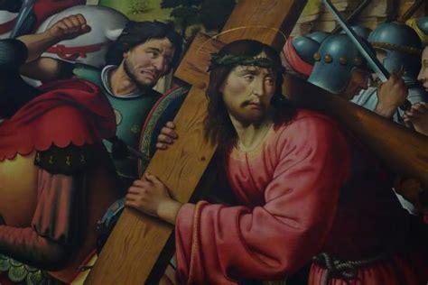 biagio d antonio le portement de croix detail picture