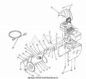 Mtd 31ae600e022 Snow Thrower 524  2001  Parts Diagram For