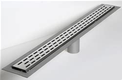 laticrete linear drain polished stainless steel