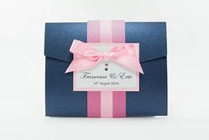 navy blue with blush pink hot pink fuchsia pocketfold With navy and blush wedding invitations uk