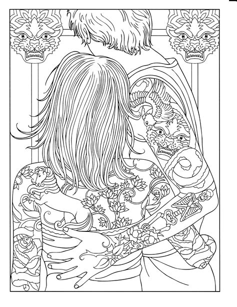 1000+ images about Coloring pages to print - Tattoo on Pinterest