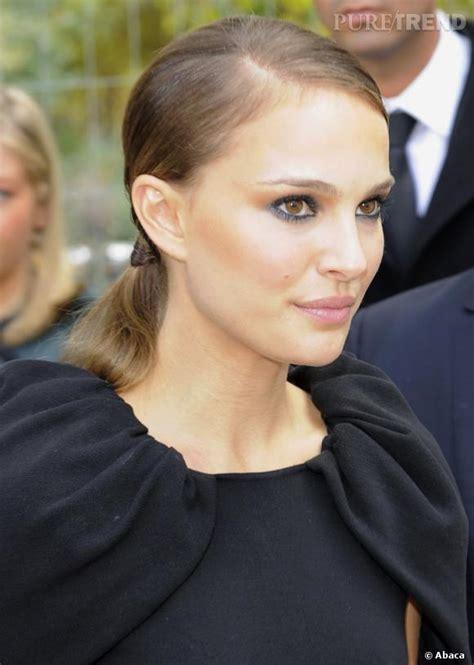 Le Match Smoky Eye  Natalie Portman S'en Sort Très Bien