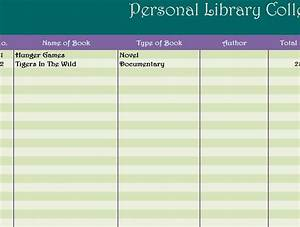 Excel Ledger Templates Personal Library Collection My Excel Templates