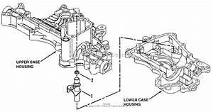 Snapper K50 Tuff Torq Hydrostatic Transaxle Parts Diagram