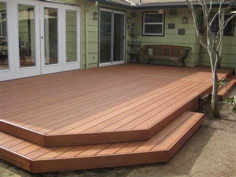 ready   hardwood decking
