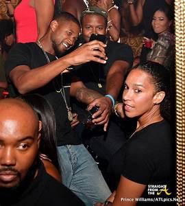 Club Shots: Usher & Wife Grace Miguel Party With Keyshia ...